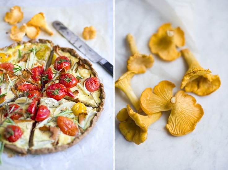 #tomato #rye #tart  Tomato & Chanterelle Rye Tart  Very interesting combination. Have to try this!