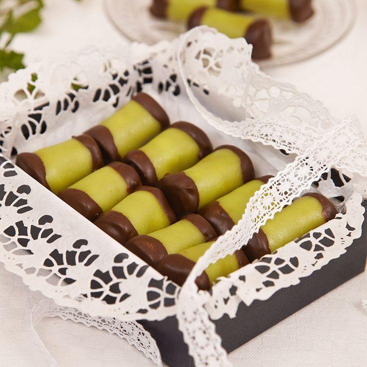 Små dammsugare med smak av punsch, choklad och marsipan.