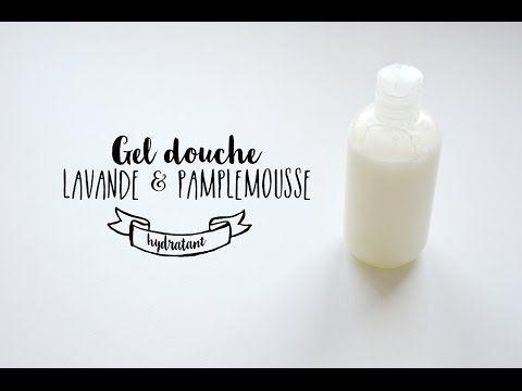 Gel douche hydratant lavande & pamplemousse maison | Healthy Juliette