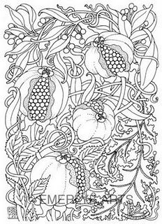 Beautiful Coloring pages for grown ups!