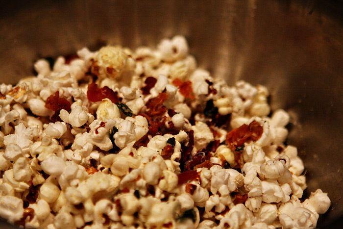 Bacon Sage Popcorn | Eats-Popcorn | Pinterest