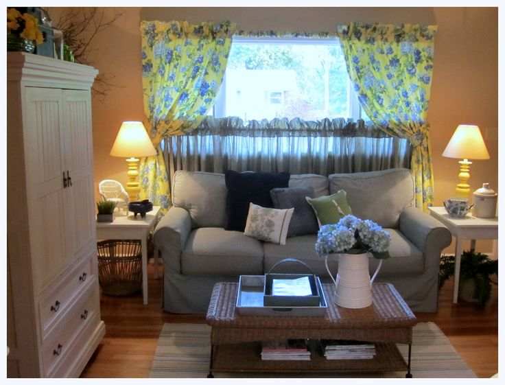 cottage living   Quaint Country Cottage ~ Living Room Update at my Mom's