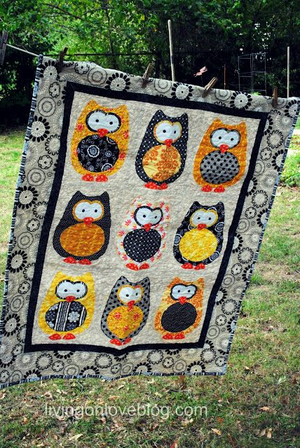 Living on Love...... : ) I love the owls!