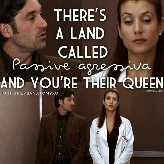 One of my favorite Grey's quotes ever!