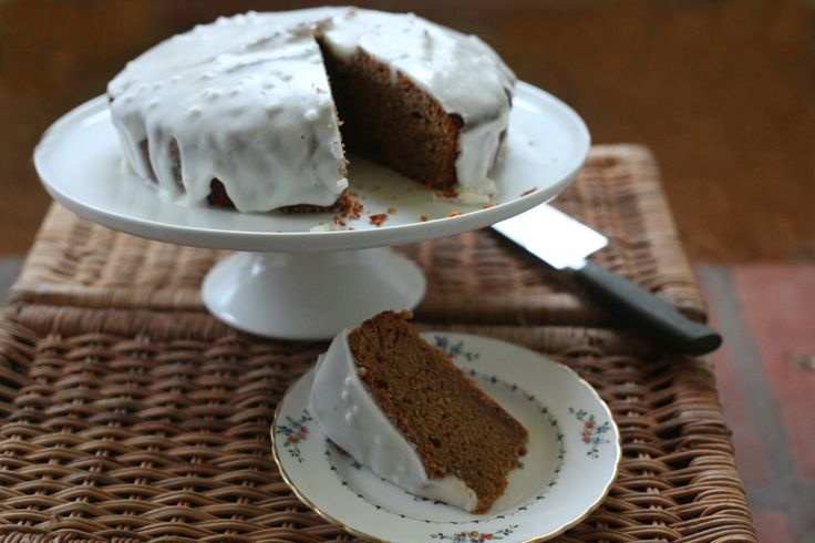 Gingerbread with Lemon Icing by Clarks, manufacturers of Maple Syrup, Honey