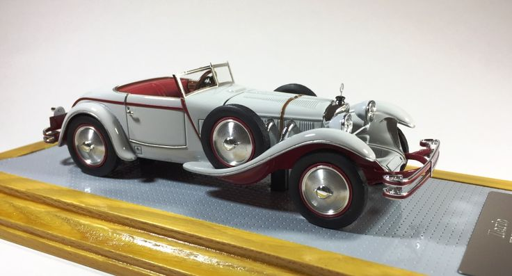 Ilario IL43096 1/43 Mercedes-Benz 680S Torpedo Roadster 1928 sn 35949 Pebble Beach 2013