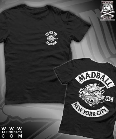$14 Madball Shirt http://www.allinmerch.com/product/MBBIKERSHIRT.html