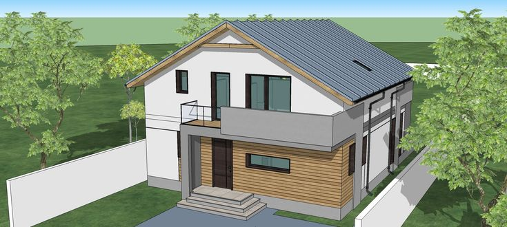 House plan attic style .1000 square feet per floor. (prices for plans in...