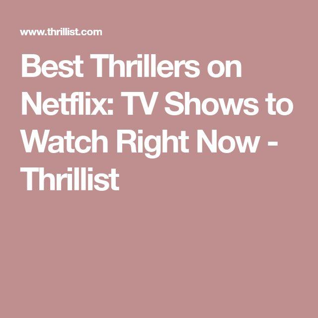 Best Thrillers on Netflix: TV Shows to Watch Right Now - Thrillist