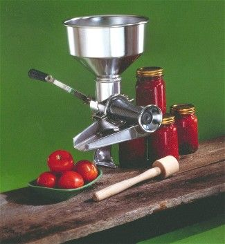 Electric And Manual Tomato And Food Strainers Tomato