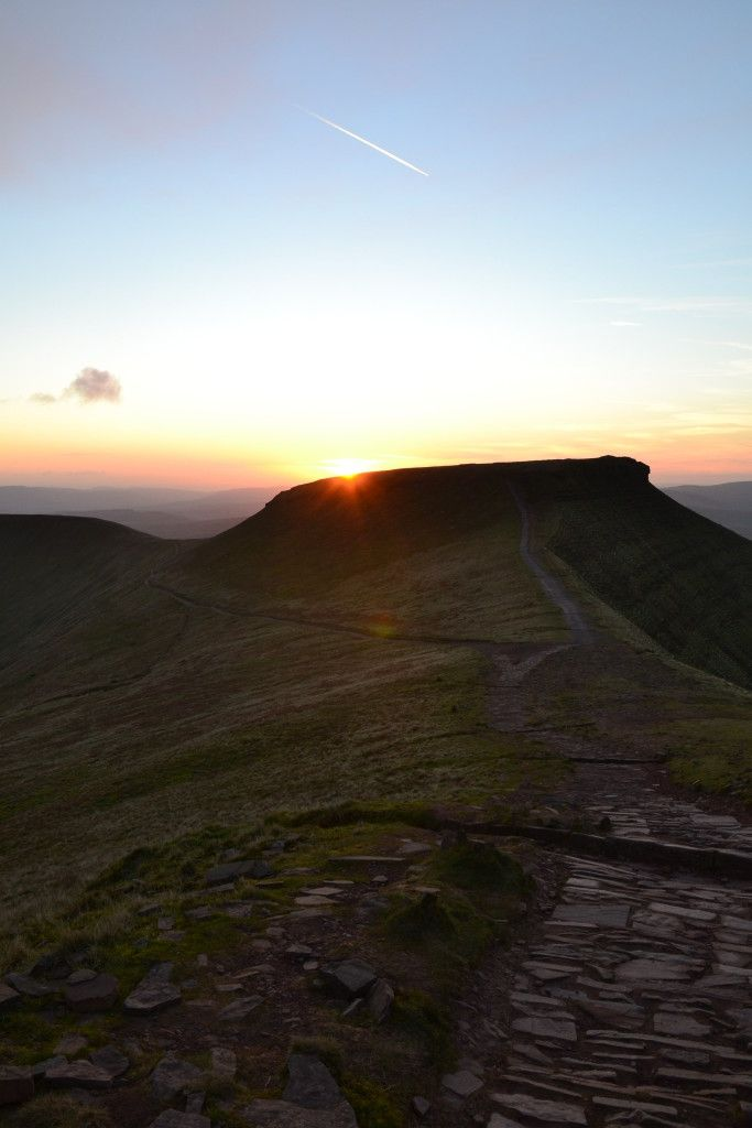 Pen-y-fan, Brecon Beacons National Park, Wales, United Kingdom