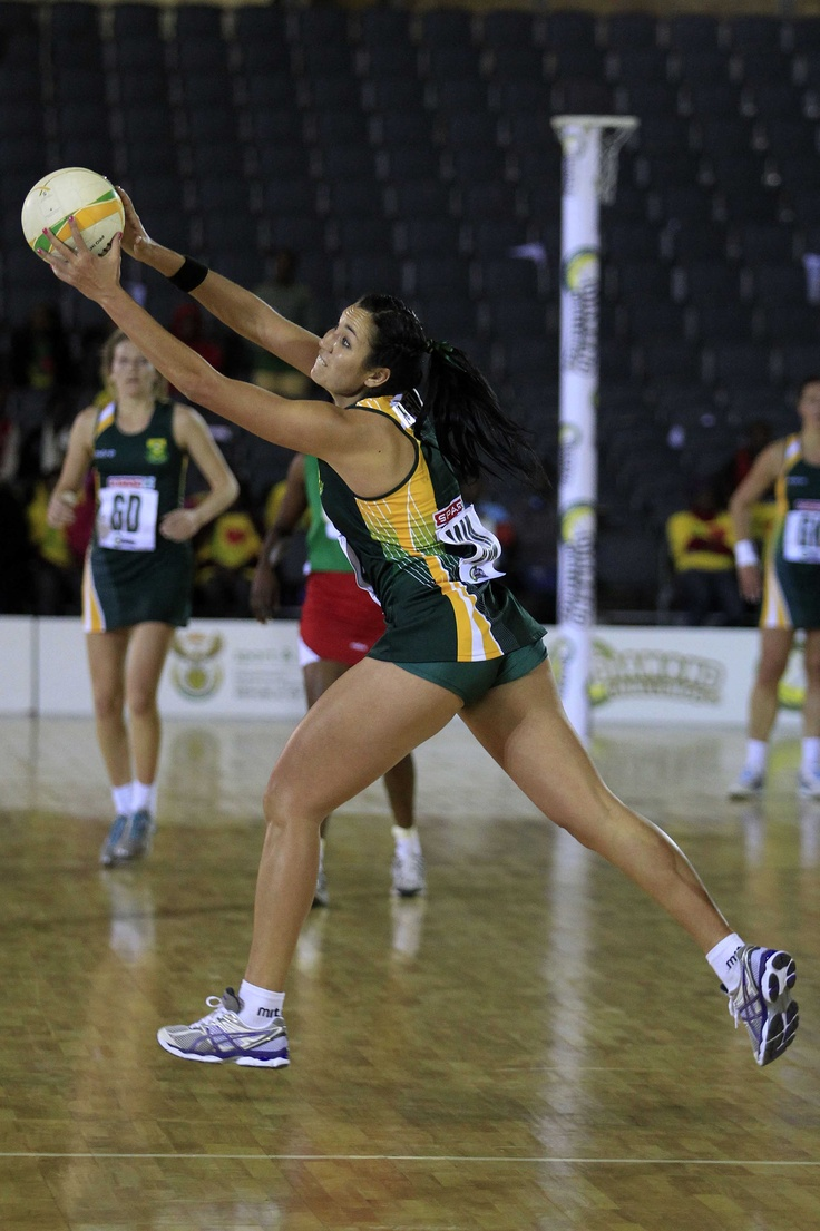 South Africa v Zambia, Diamond Challenge 2012 #netball