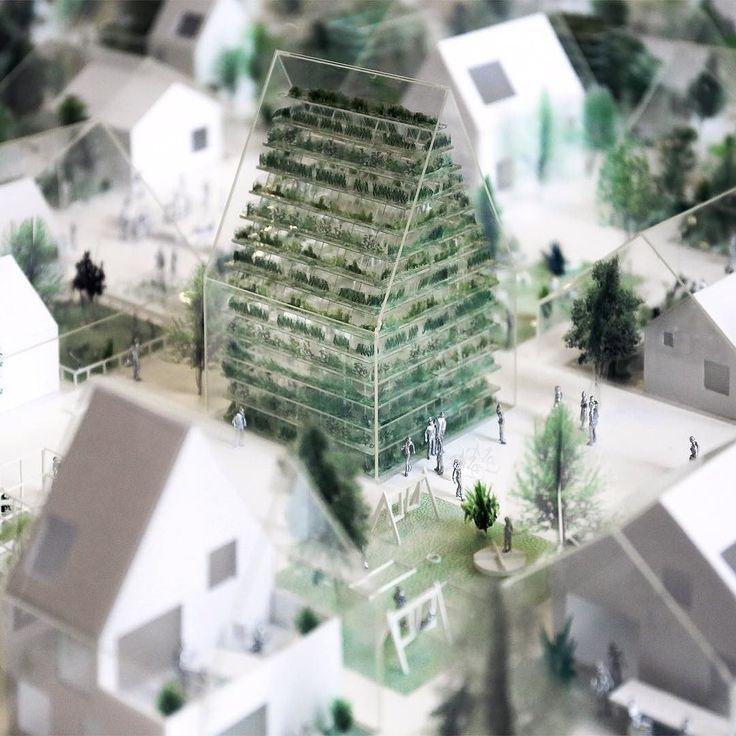 snapchat /add/ nextarch Model close-up 1:100 #conceptmodel #architecturemodel #effektarchitects #danishdesign #whitemodel #labiennaledivenezia #VeniceBiennale #sustainability #sustainabledesign photo by @effektarchitects #next_top_architects...