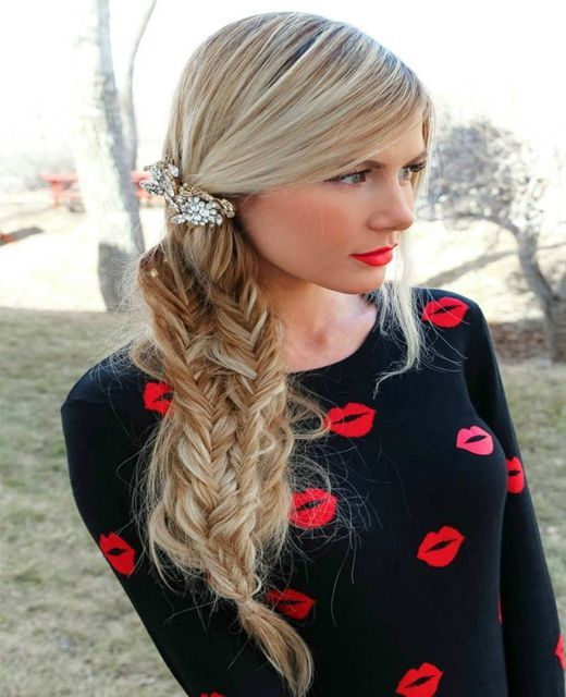 Latest braided hairstyles for autumn