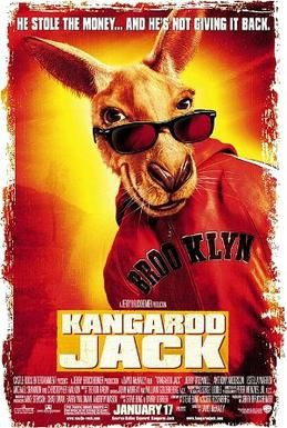 Kangaroo Jack ~ Jerry O'Connell, Anthony Anderson, Christopher Walken, Michael Shannon.
