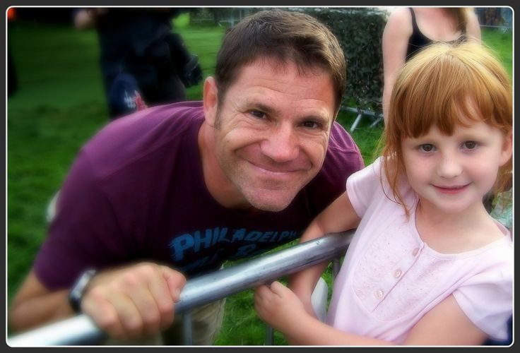 My Sunday Photo. Meeting Steve Backshall was one of my daughter's best days! So happy to see how excited she was.