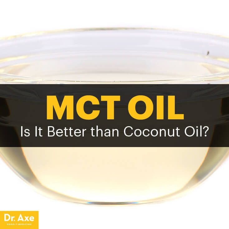 MCT oil benefits - Dr. Axe