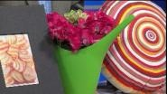 """Host of HGTV's """"Design On A Dime"""" David Sheinkopf shares some quick and inexpensive ways to spruce your home up for Spring."""