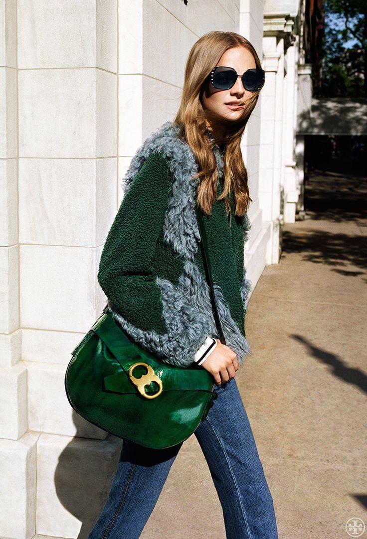 2016 Fall Line : Lusious Green leather handbag