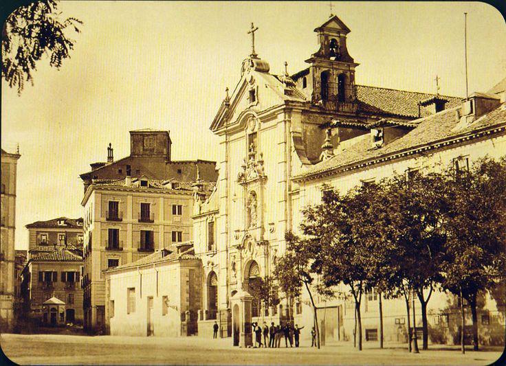 Calle de Alcalá, a finales del Siglo XIX. Madrid