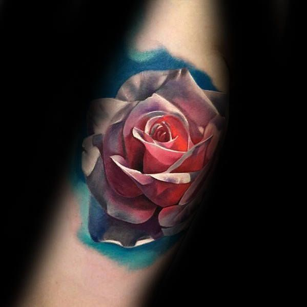 50 Awesome Arm Tattoos For Men Manly Ink Design Ideas Realistic Rose Tattoo Tattoo Designs Men Arm Tattoos For Guys