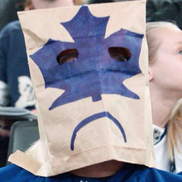 This is how I feel about the Toronto Maple Leafs right now