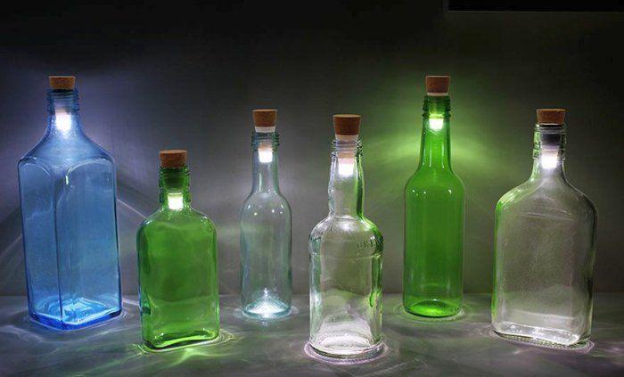 die besten 17 bilder zu glasflaschen auf pinterest blumenampeln selbermachen und recycelte. Black Bedroom Furniture Sets. Home Design Ideas