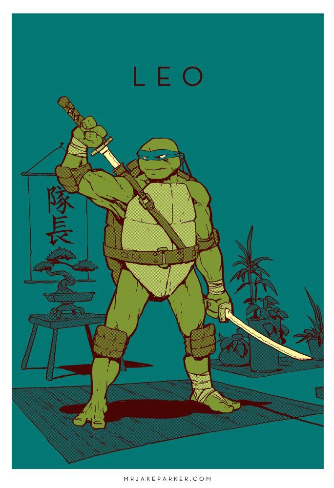Leonardo - Tartaruga ninja