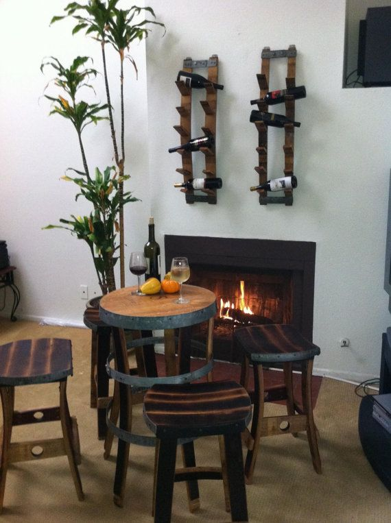 Items Similar To Wine Barrel Bistro Table On Etsy Part 81
