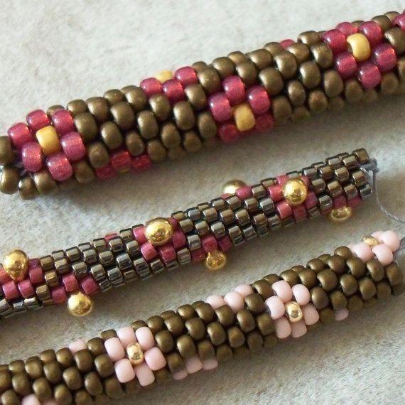TUTORIAL -sale- : Bead Crochet Rope - Daisy Chain