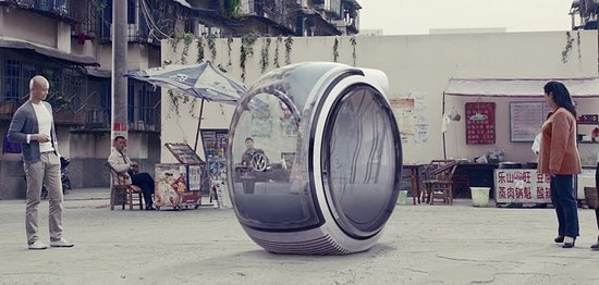 Floating Chinese Spherical Car Created by Volkswagen: Flying Cars, Floating Car, Concept Cars, Flyingcar, Volkswagen