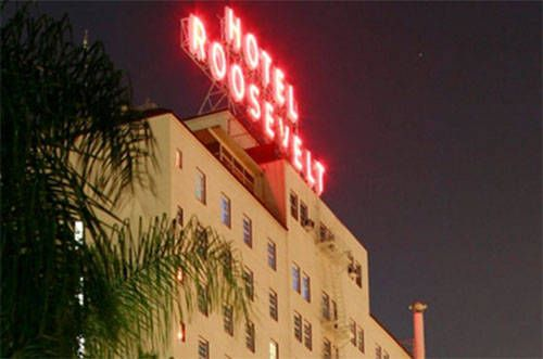 Hollywood roosevelt hotel los angeles ca eye candy for Hollywood beach resort haunted