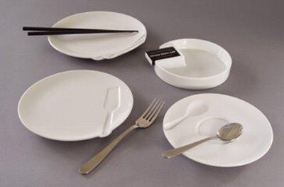 Vaisselle avec empreintes par Ross McBride - Grooveware - Collection de…