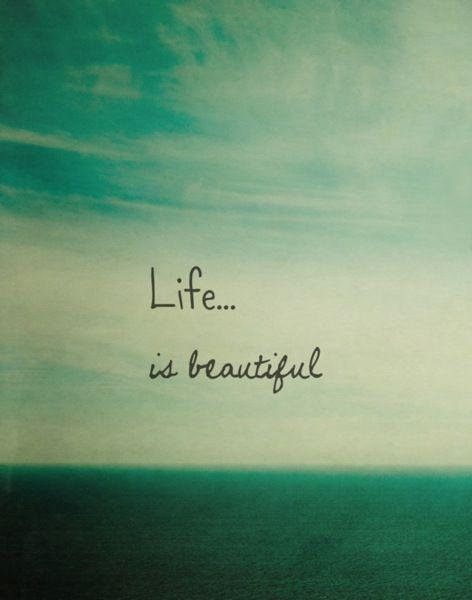 Hayat güzel ama çok güzel...