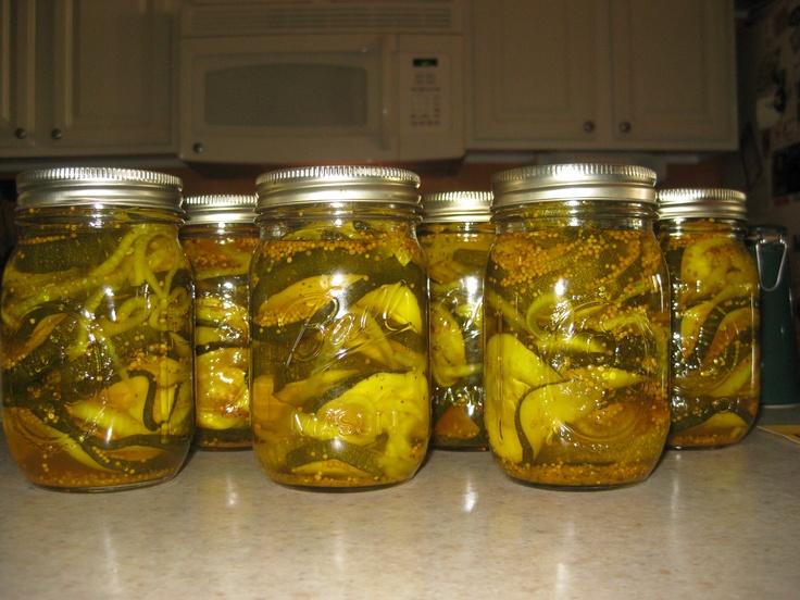 Zucchini pickles | Pickles | Pinterest