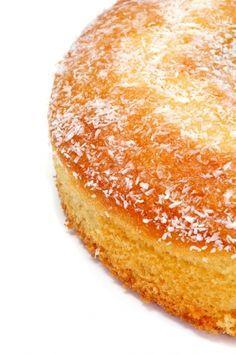 Coconut Cake - Bizcocho de Coco Receta