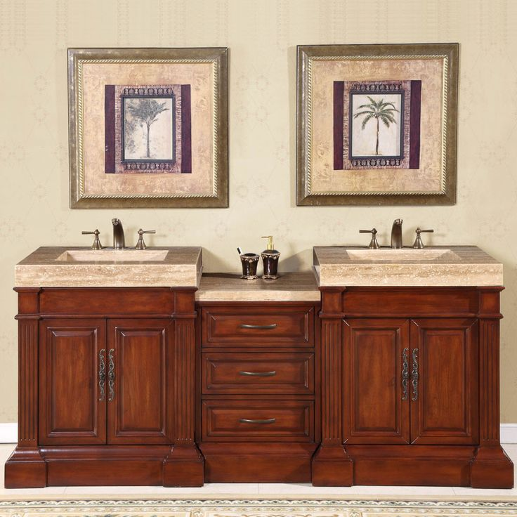 Bathroom Vanity Set Up :