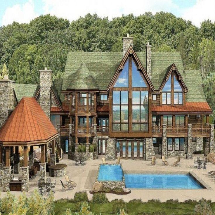 Lake Luxury Log Homes: Best 25+ Log Cabin Floor Plans Ideas On Pinterest
