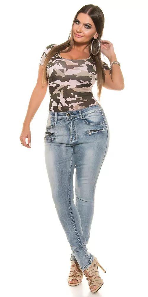 Trendy džíny se zipy