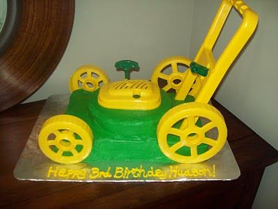 This will be Brooks' bday cake!  Love it!