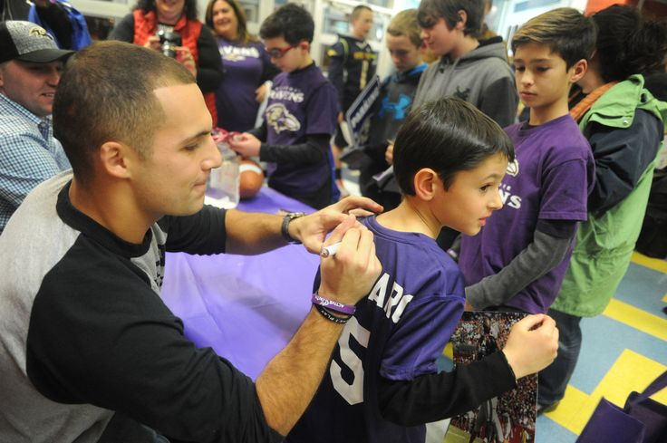 Baltimore Ravens wide receiver Michael Campanaro will make an appearance at KidsDay  2016. #ravens