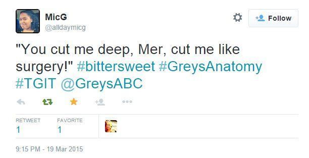 Kanye West meets Grey's Anatomy. #Bittersweet