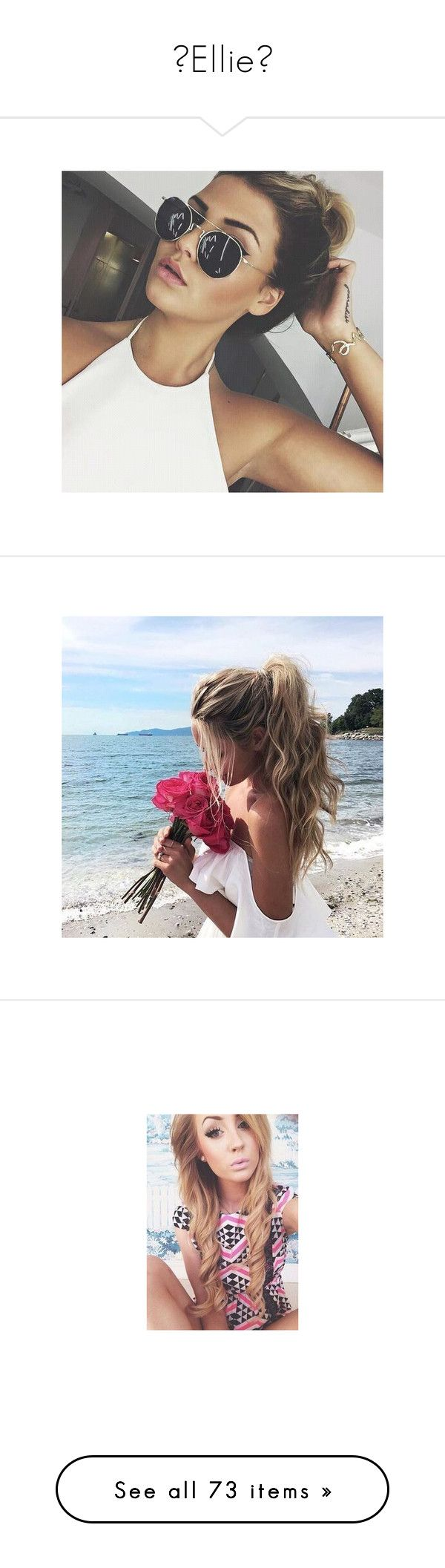 """""""💜Ellie💜"""" by amysykes-697 ❤ liked on Polyvore featuring icon pics, tops, brown tops, beach tops, flower top, aspen mansfield, accessories, aspen, girls and chloe"""