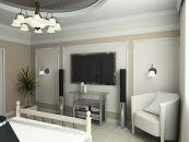 עיצוב קירות בחדר שינה