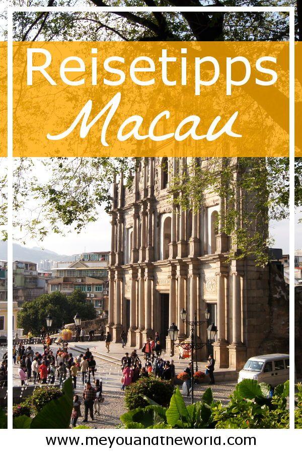 Macau Das Las Vegas Des Ostens Reiseziele Inspiration