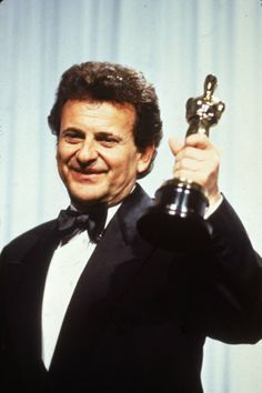 "1990 Best Supporting Actor - ""GoodFellas""  Joe Peci. Which his Oscar speech was the shortest in history with just a simple  ""Thank you"" and a nod."