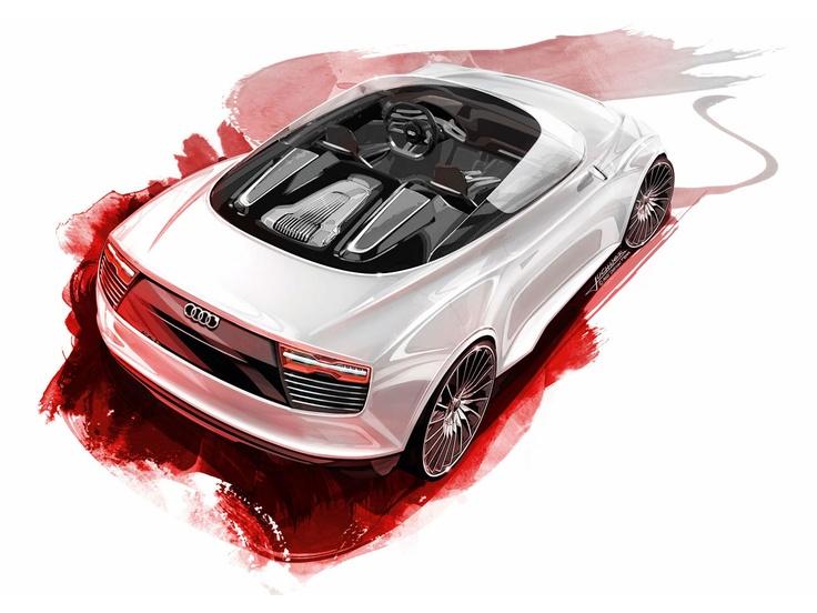 Audi Concept Desing Sketch