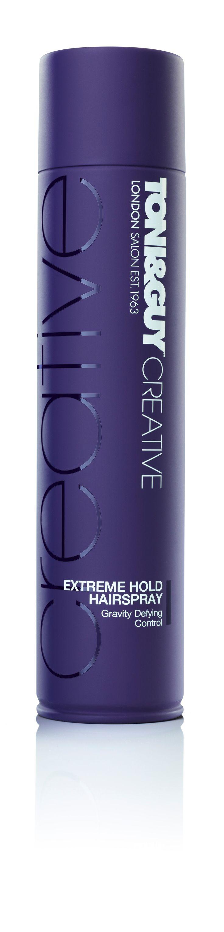 TONI&GUY Hair Care Creative Extreme Hold Hairspray RRP $9.99