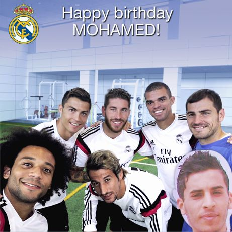 From Real Madrid To Me <3 2