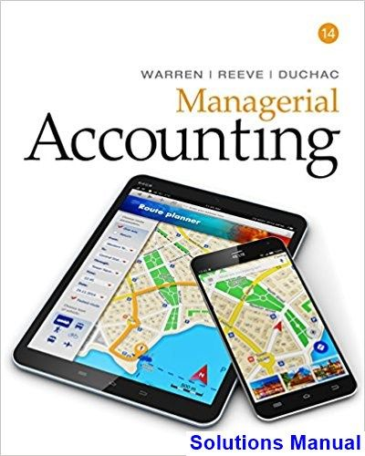 47 best test bank dowload images on pinterest textbook manual and solutions manual for managerial accounting 14th edition by warren ibsn 9781337270595 fandeluxe Choice Image